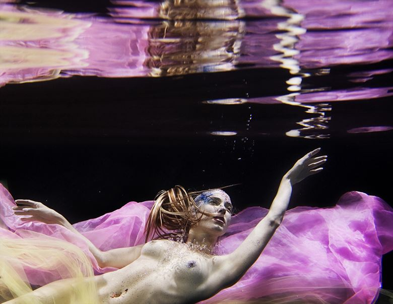 beyond the reflection iridescent collection artistic nude photo by photographer h2wu photo