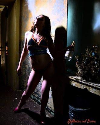 bikini fantasy photo by model ellecata