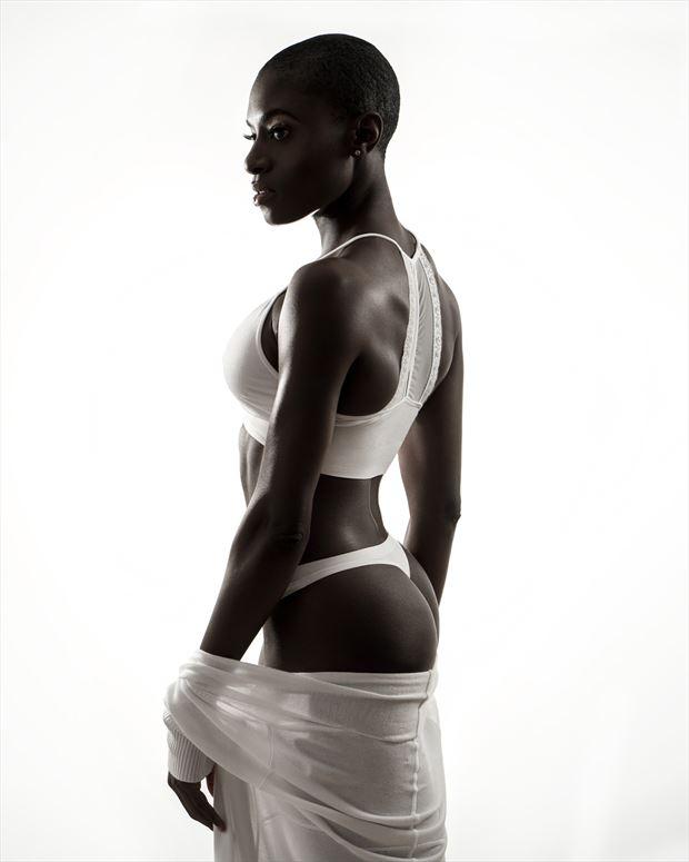 bikini silhouette photo by photographer mark wiles