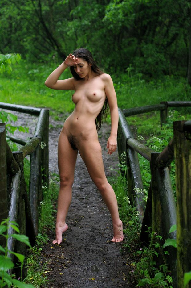 bink in snypedales country park artistic nude photo by photographer russb