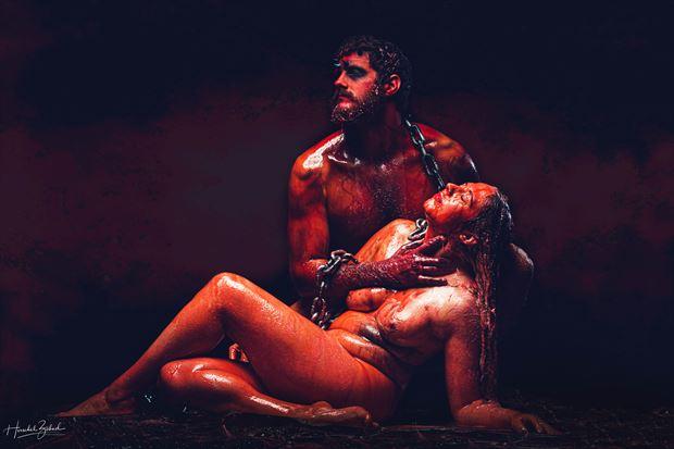 birth of pandora artistic nude photo by photographer zahndh23