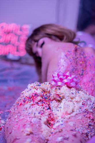 birthday cake erotic photo by photographer josh b
