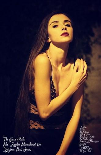 black Lingerie Photo by Model Zorjana