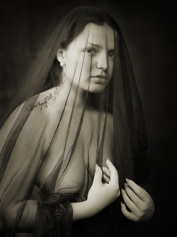 black Widow Artistic Nude Photo by Photographer zanzib