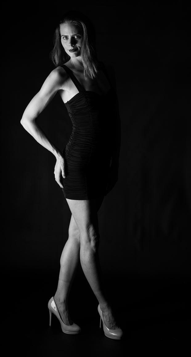 black dress fashion artwork by photographer gsphotoguy