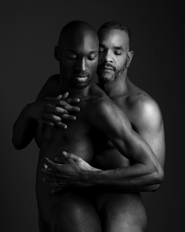 blaine and jaime artistic nude photo by photographer david clifton strawn