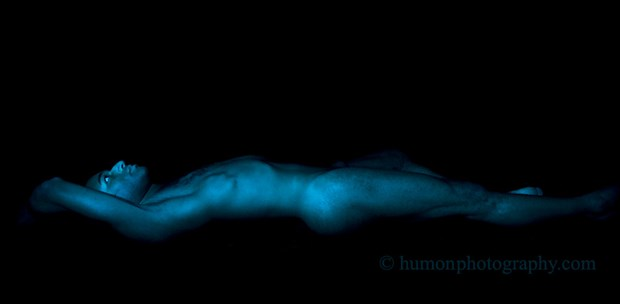 blue Artistic Nude Photo by Photographer humon photography