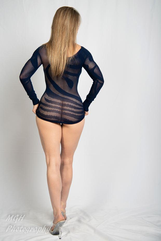 blue dress 3 sensual photo by photographer mghphotography