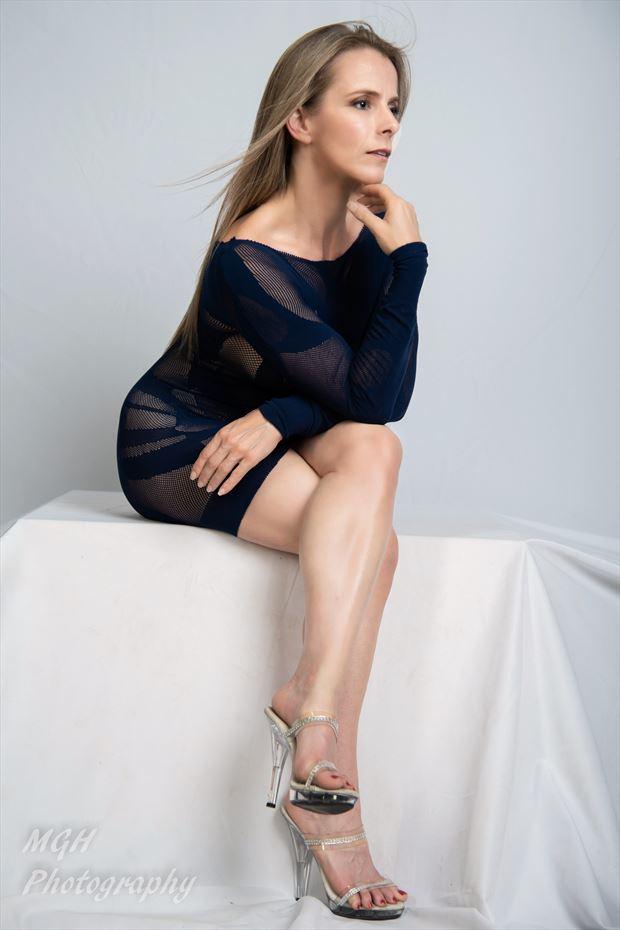 blue dress4 sensual photo by photographer mghphotography