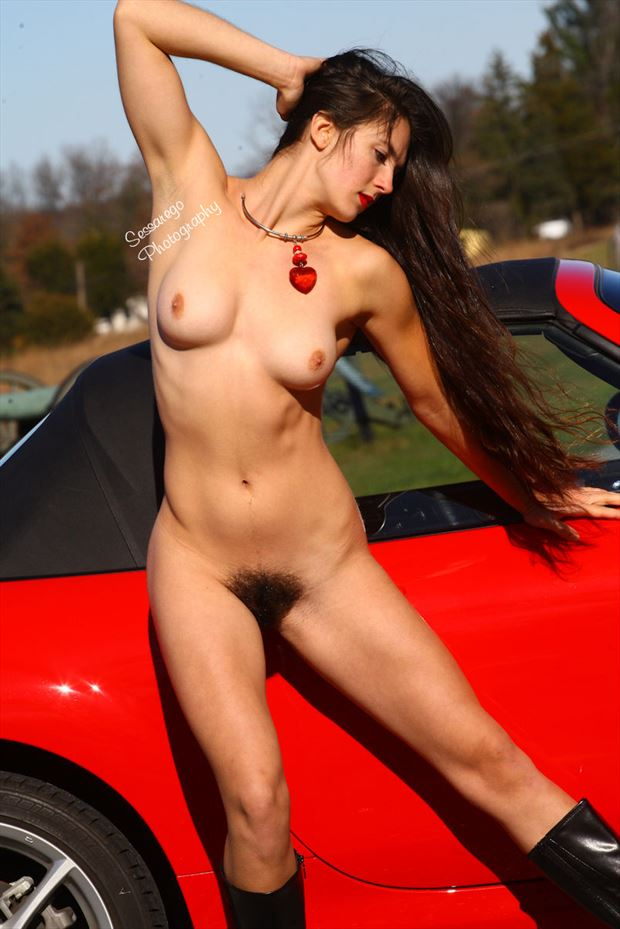 bobina artistic nude photo by photographer alan james