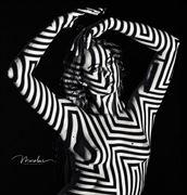 body maze artistic nude photo by model alexandra queen