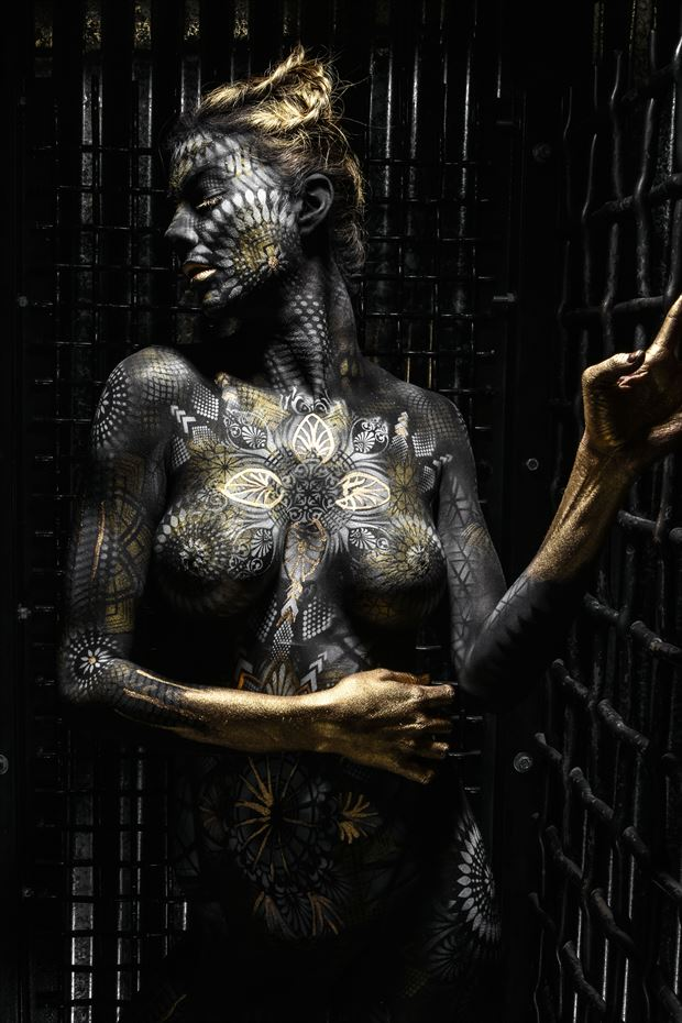 body paint artistic nude photo by photographer studio5graphics