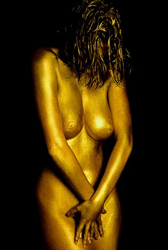 body painting artistic nude photo by photographer luis castanheira