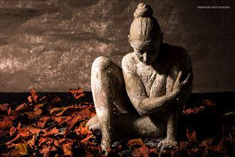 body painting experimental artwork by photographer desenfoque selectivo