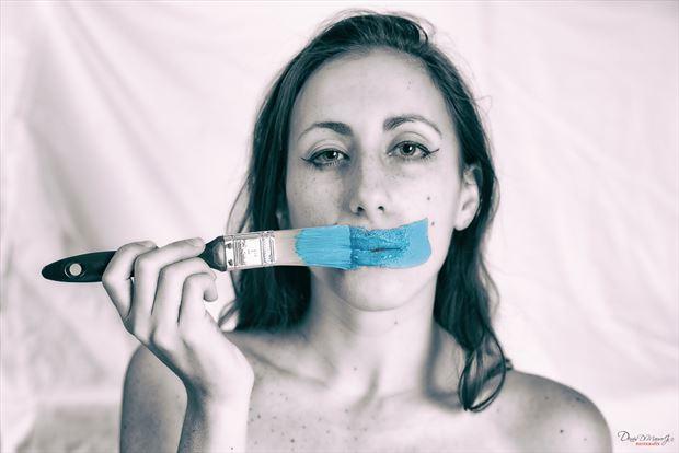 body painting expressive portrait photo by photographer dennisd
