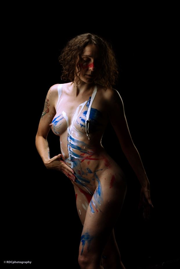 body painting photo by model michelle s