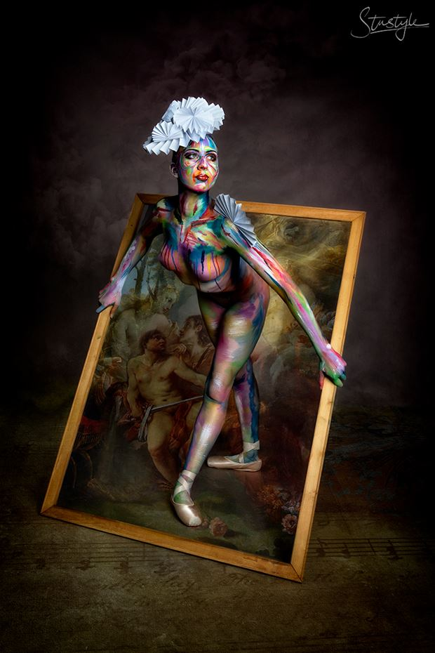 body painting photo by photographer stustyle