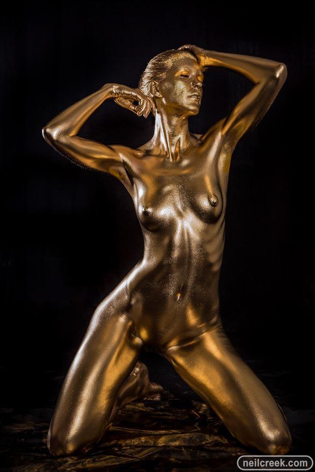 body painting studio lighting photo by photographer neil creek