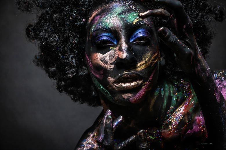 body painting studio lighting photo by photographer nikzart