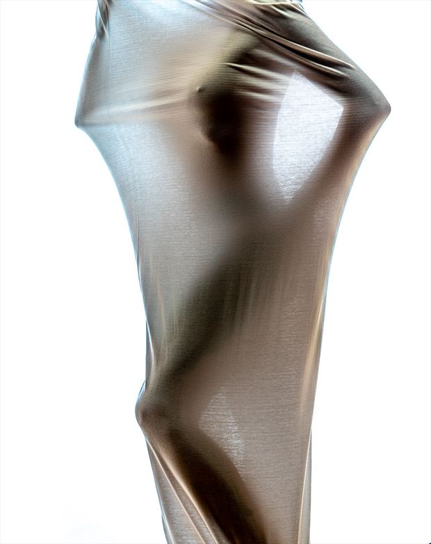 body sock abstract photo by photographer len cook