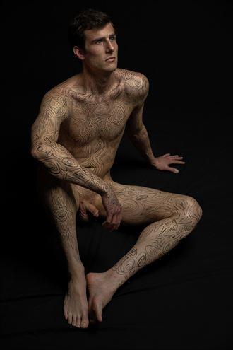 bodymap model huck 131 artistic nude photo by photographer art studios huck