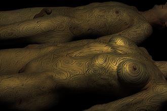 bodymap syb huck 040 pure gold edit artistic nude photo by photographer art studios huck