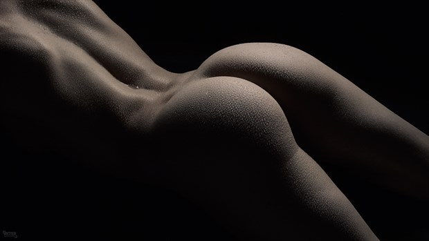 bodyscape figure study photo by model lilith etch