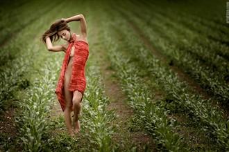 bolero Artistic Nude Photo by Artist Artofdan Photography