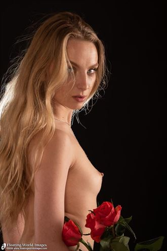 bonnie may in studio artistic nude photo by photographer floatingworldimages