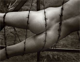 bound artistic nude photo by photographer photorunner