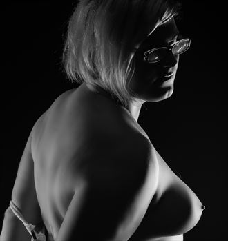 bound in b w artistic nude photo by photographer visuals