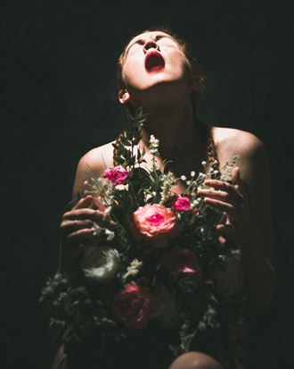 bouquet of thorns surreal artwork by photographer mr muliebris