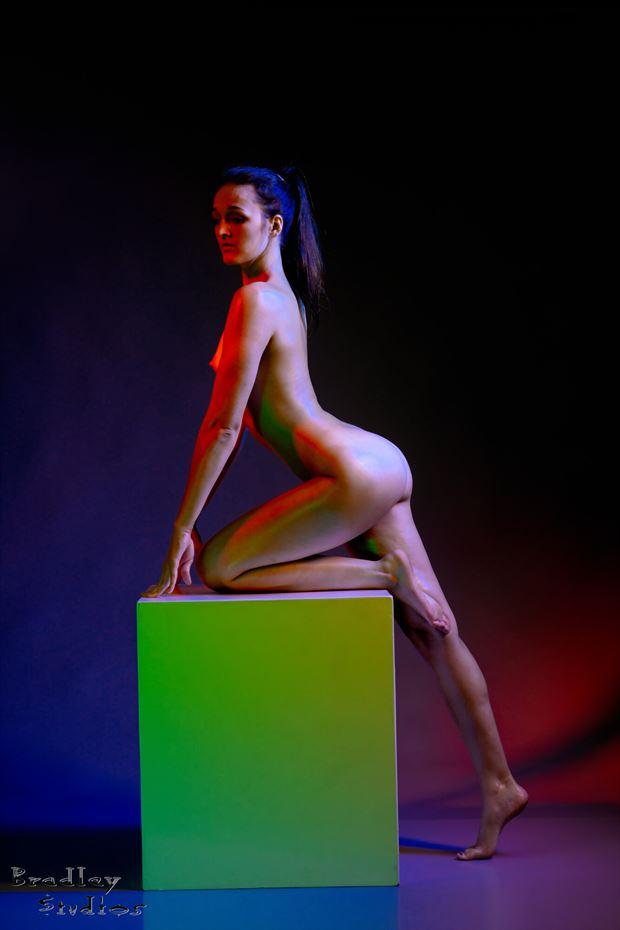box girl artistic nude photo by model jordane