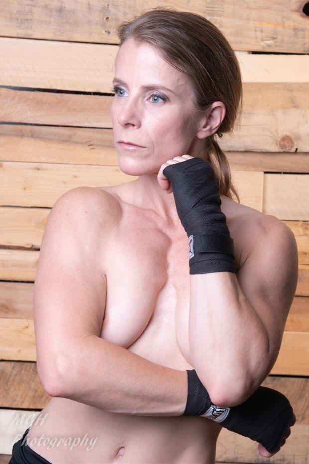 boxer 2 artistic nude photo by photographer mghphotography