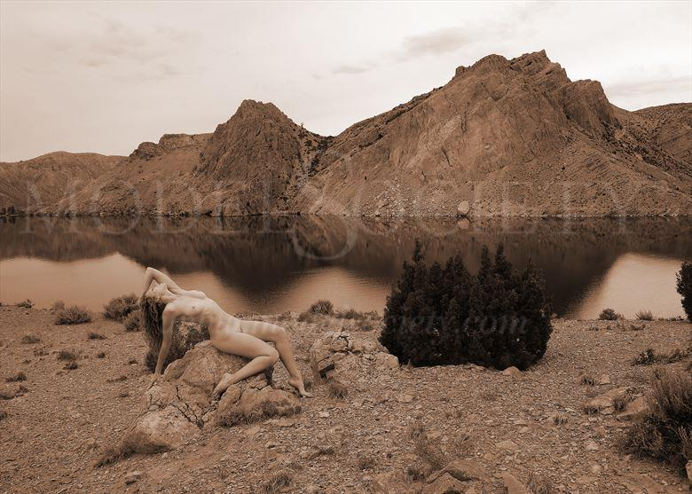 boysen state park wy artistic nude photo by photographer ray valentine