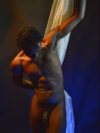 braxton drapery artistic nude photo by photographer dan simoneau