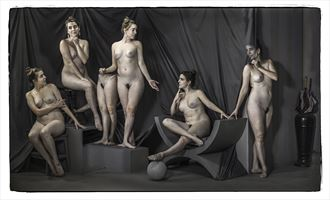 breaking out artistic nude photo by photographer thomas sauerwein