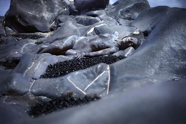 breath of the blue rocks Artistic Nude Photo by Photographer Laila Pregizer
