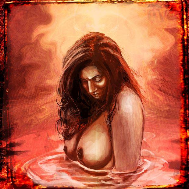 breathe 7 fantasy artwork by artist nick kozis