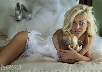 bridal bedroom tattoos photo by photographer legacyphotographyllc
