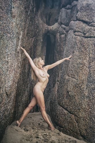 bridging the gap artistic nude photo by model selkie