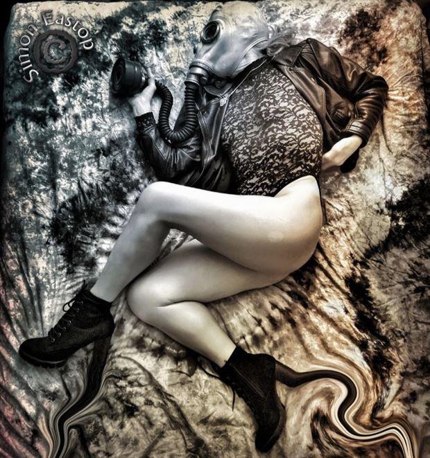 bring me air abstract artwork by model annie gh