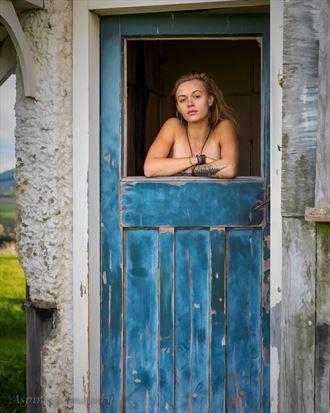 broken window implied nude photo by photographer aspiring imagery