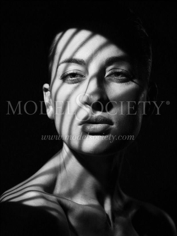 by Chris Knight Studio Lighting Photo by Model Tati KURKINA