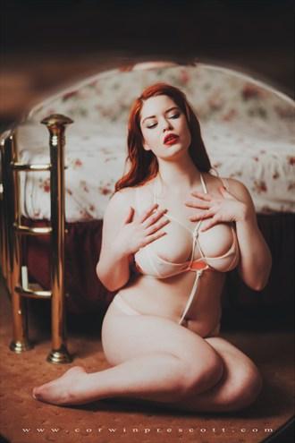 by Corwin Prescott Lingerie Photo by Model Sierra McKenzie