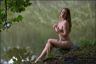 by the pond 1 artistic nude photo by photographer andriy siniy