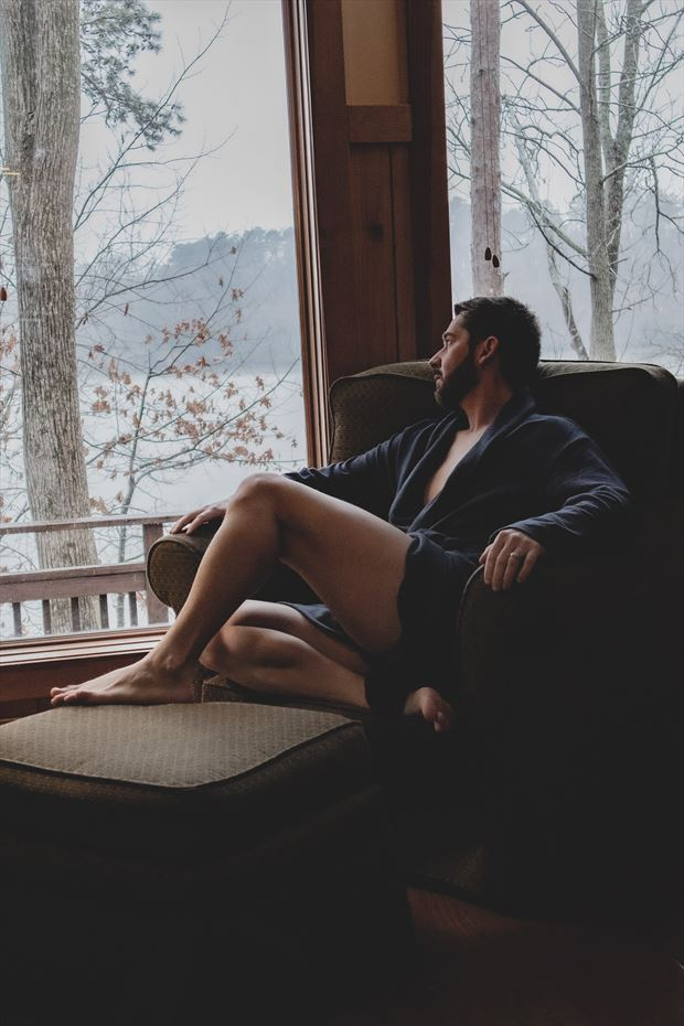 cabin boudoir window seat 1 surreal photo by model jonathan arts