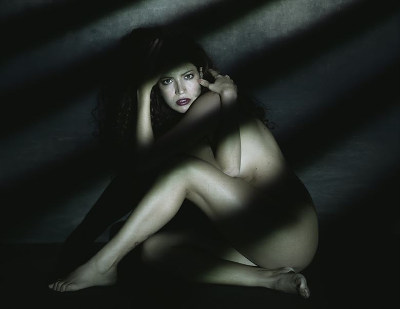 cage artistic nude photo by model morganagreen