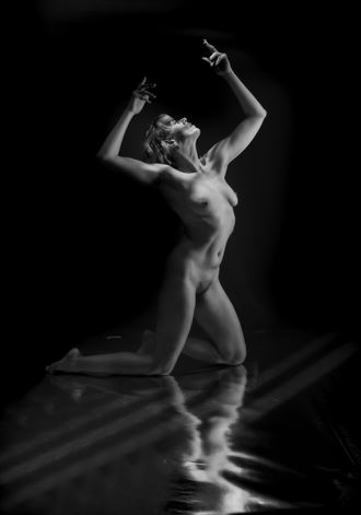 caged artistic nude photo by photographer colin dixon