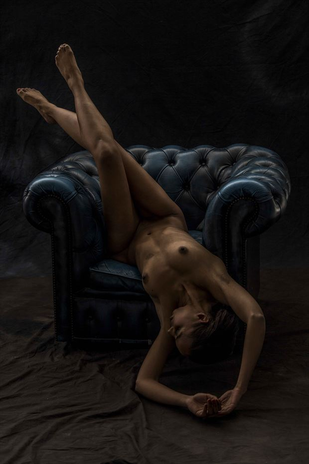 calender shoot for charity artistic nude photo by model sabamodel